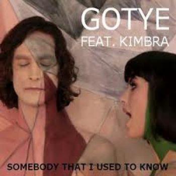 Somebody That I Used to Know: Gotye with Kimbra